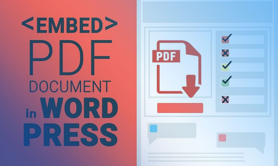 How To Embedded Pdf From Website