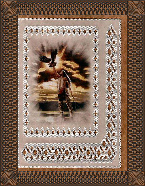 Foto: Eagle Feather  http://allthingsparchmentcraft.blogspot.com http://PapercrazysPlace.com