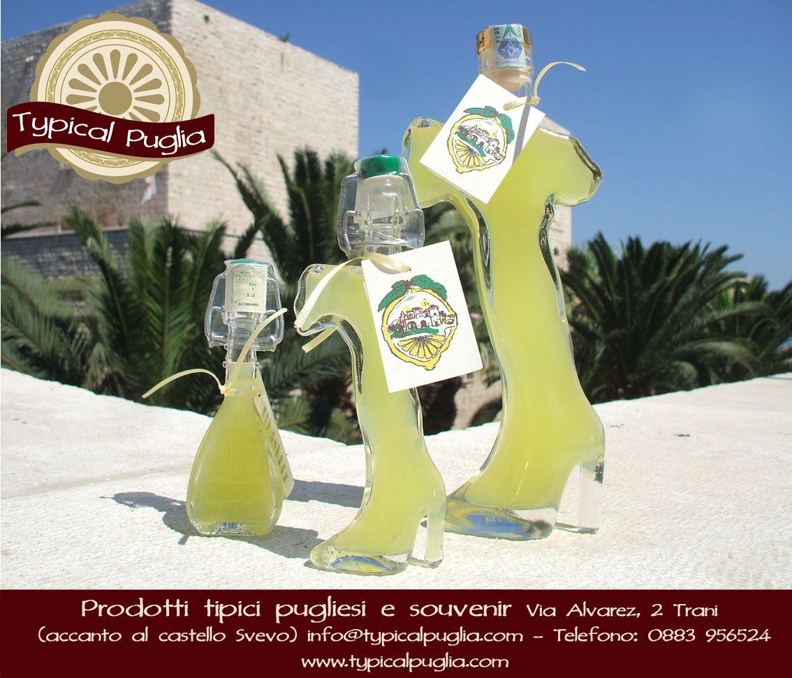 Limoncello in bottiglia di vetro italia e mandolino for Roma prodotti tipici