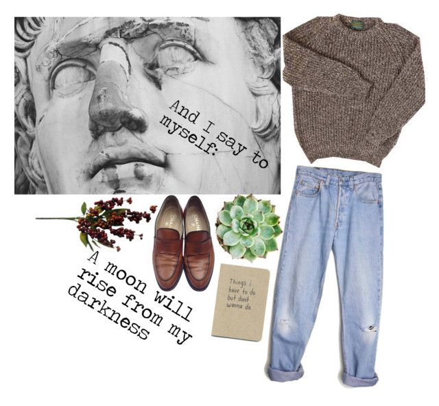 """""""cloudy cloudy day"""" by alta-alats-patentt ❤ liked on Polyvore featuring Levi's and Chanel"""