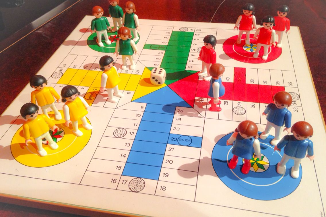 Parchis playmobil lego toy