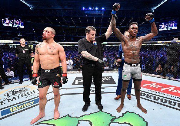 Israel Adesanya is the New UFC 243 World Champion
