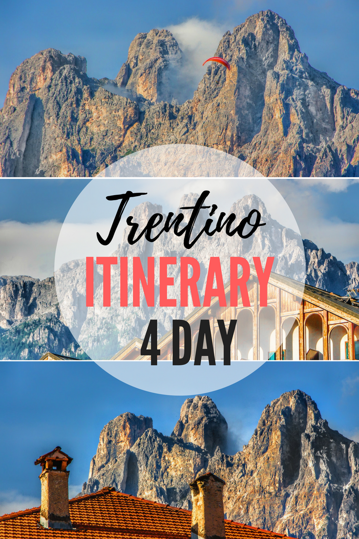 Perfect 4 Day Itinerary for Trentino and Dolomites Italy