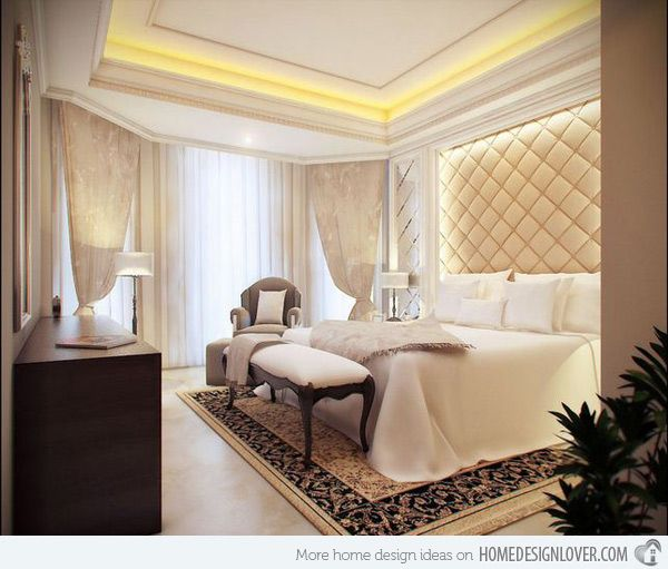 Feel The Grandeur Of 20 Classic Bedroom Designs  Bedrooms Bed Magnificent Classic Bedroom Designs Design Inspiration