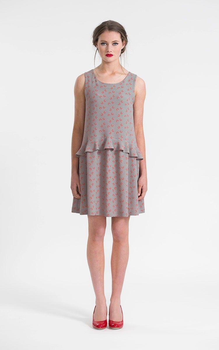 Papercut Patterns Womens Sewing Pattern - Moana Ruffle Dress & Top ...