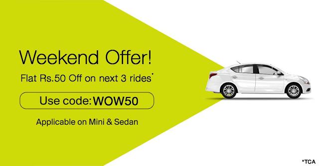 ola cab money recharge coupon