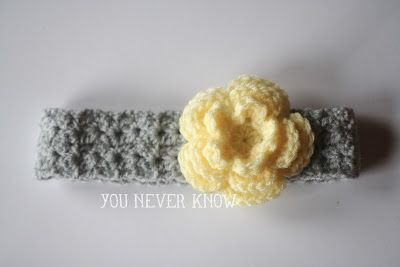 You Never Know by Andrea VanHooser Womack: Gray Skies Headband