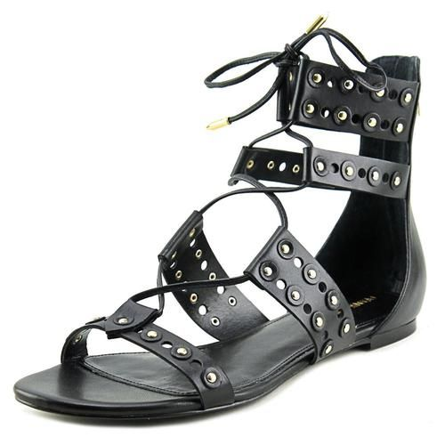 2b6998458e1 Ivanka Trump Cathy Open Toe Leather Gladiator Sandal - Sears ...