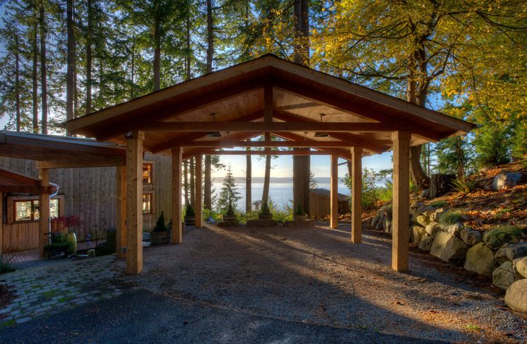 The Allure of Car Ports (Beach Style Garage And Shed by