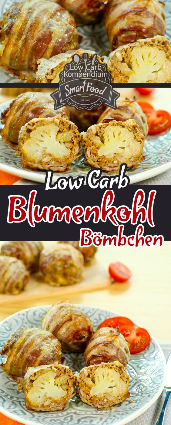 Photo of Cauliflower Bömbchen Low-Carb