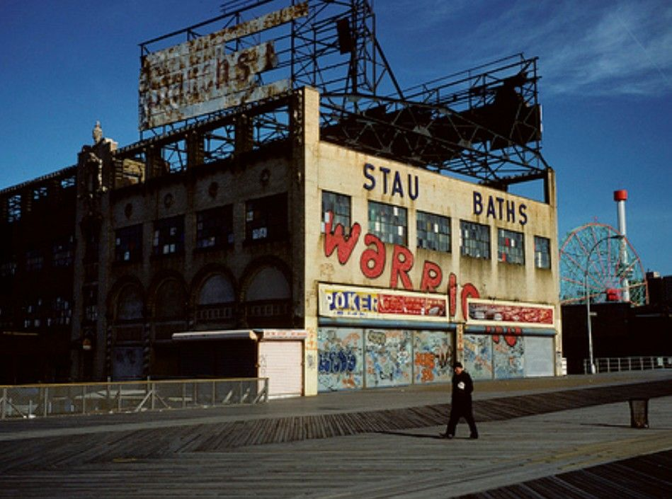 Location Shot From The Warriors Movie New York City Images Warrior Movie Coney Island