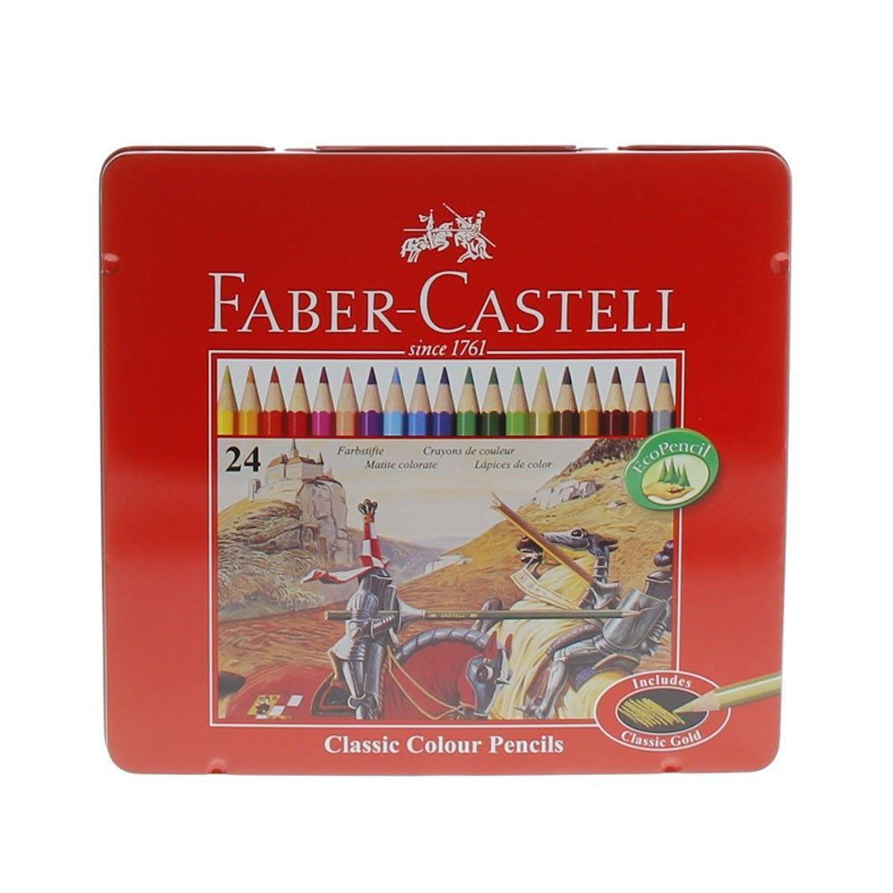 Buy Faber Castell Color Pencils 115825 24 S Online In Uae Dubai