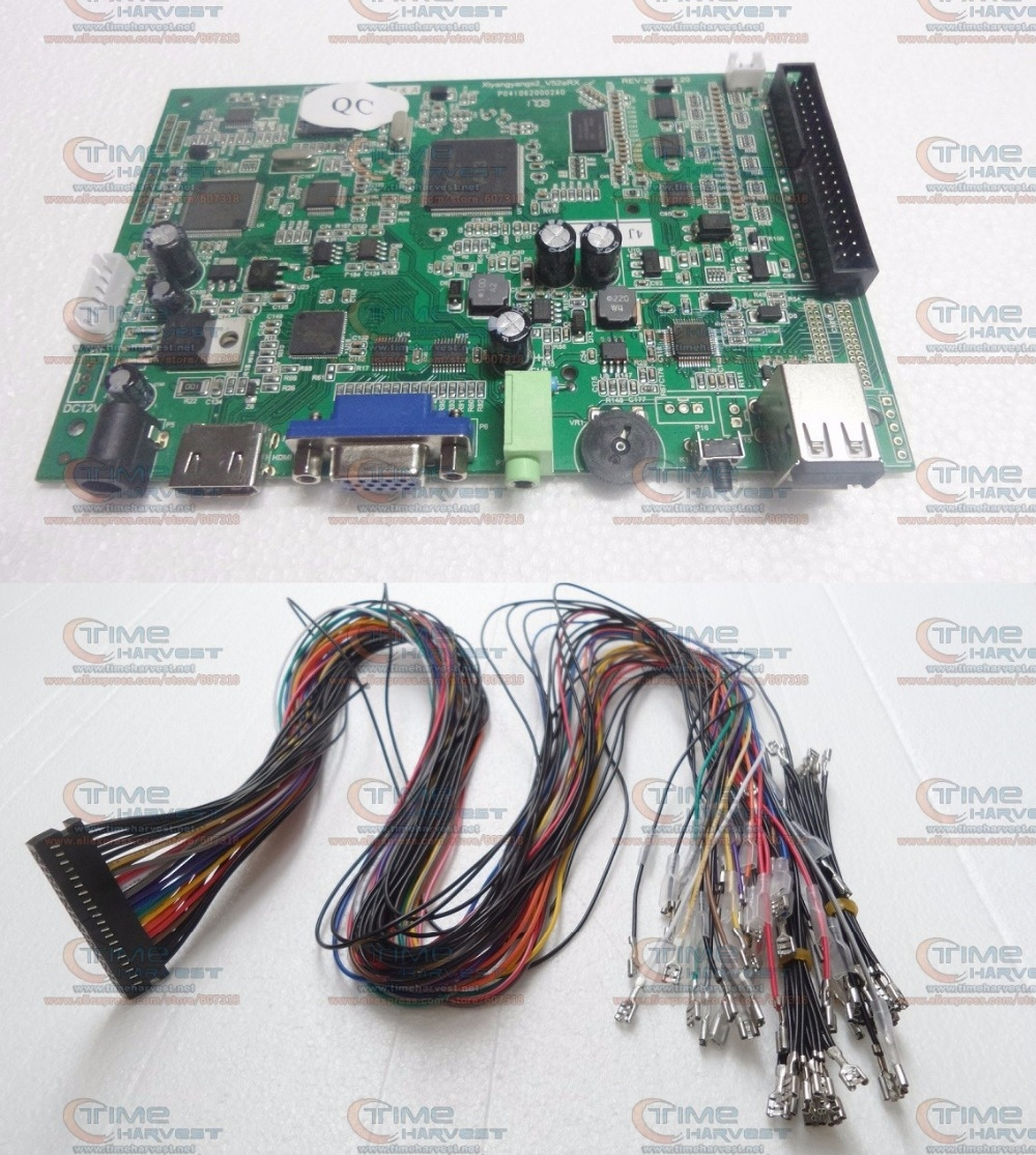 57.00$  Buy now - http://alilyf.shopchina.info/1/go.php?t=32810453864 - 2 player USB Encoder built-in 680 in 1 Pandora Box 4S Arcade Stick Board With Wires  USB adapter to PC MAME PS3 Console Joystick  #aliexpresschina