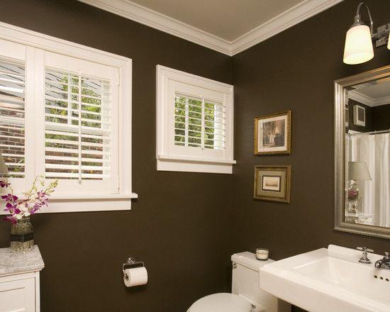 Brown Bathroom Small Bathroom Colors Bathroom Wall Colors