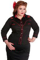 5b983ea269b Wrangler Women's Rock 47 Long Sleeve Western Front Yoke Shirt at Amazon  Women's Clothing store: