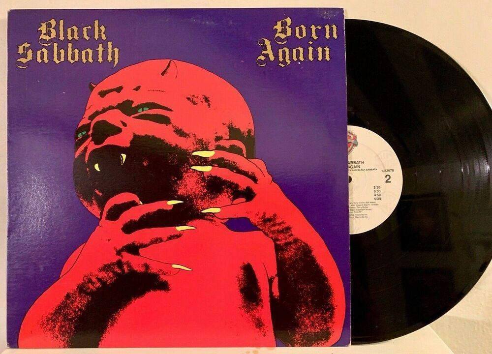 Black Sabbath Born Again 1983 Og First Pressing Vinyl Ex Ian Gillian W Inner Britishmetalnwobhmdoomsludgemetal Black Sabbath Black Sabbath Albums Sabbath