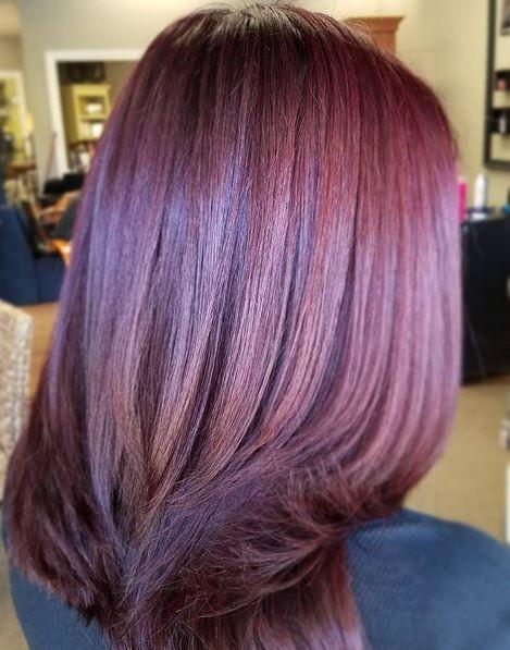 Couleur cheveux et meche 2018