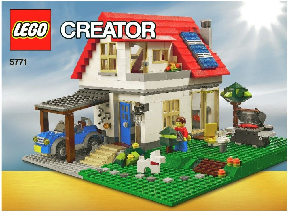 Creator Hillside House [Lego 5771] Lego creator