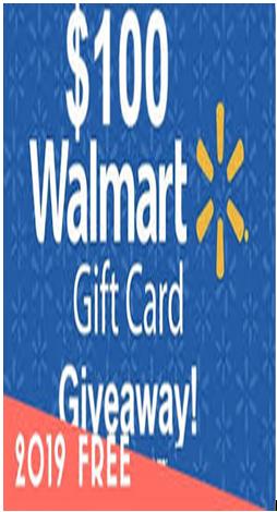 Photo of $100 Walmart Free Gift Card
