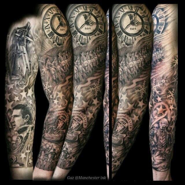 tattoo manchester united bday tattoo pinterest manchester tattoo and tatting. Black Bedroom Furniture Sets. Home Design Ideas