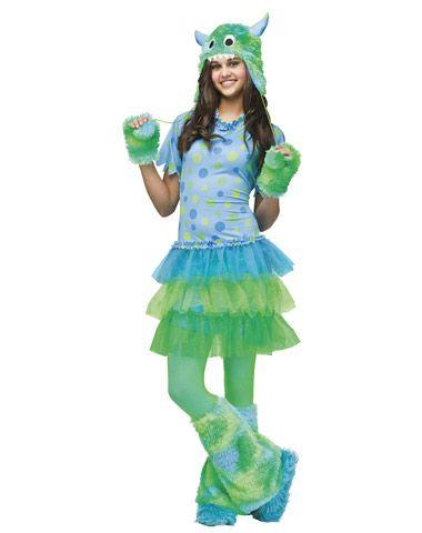 Monster Miss Teen Costume in Halloween 2012 from Spirit Halloween - halloween teen costume ideas