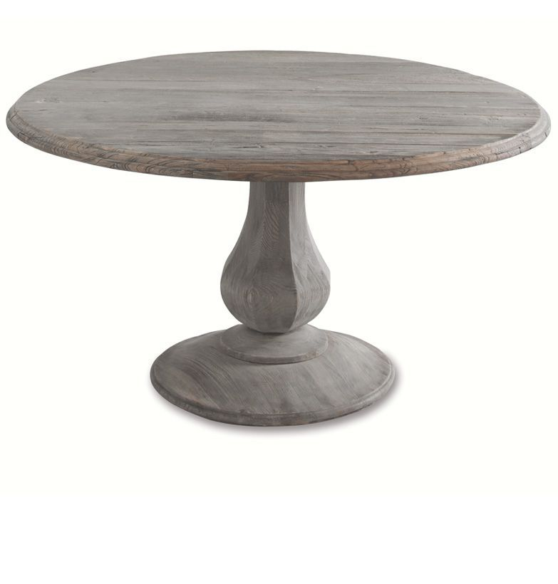 Brownstone Furniture Sienna Elm Dining Table Dining Table Round Pedestal Dining Pedestal Dining Table