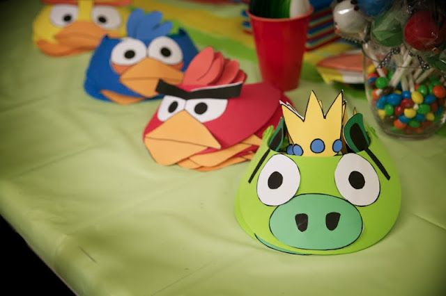 Angry Birds hats & more