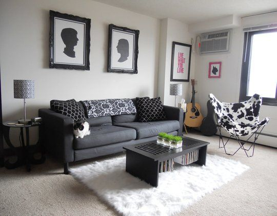 With Carpet Decorating Ideas, How To Decorate Apartment Living Room With Carpet