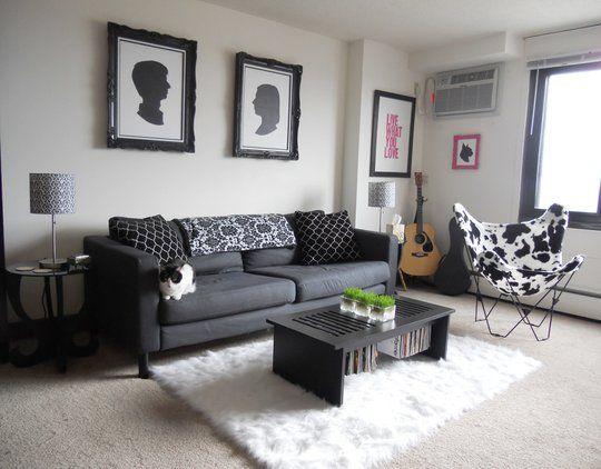 Grey Carpet Living Room Ideas