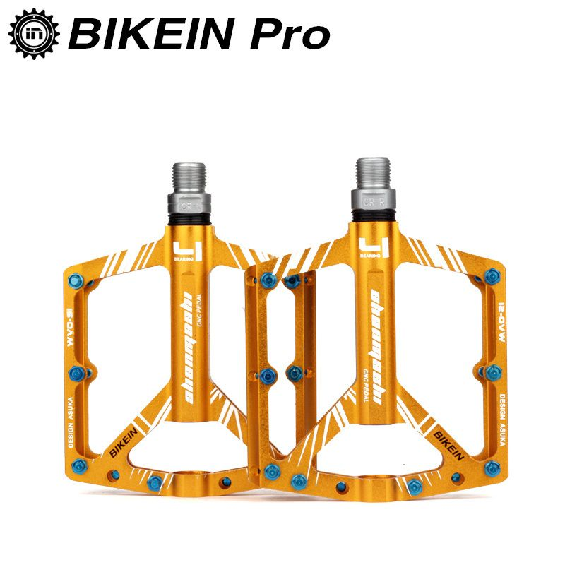 BMX MTB Bicycle Pedals Road Mountain Bike Pedals Carbon Fiber Sealed Bearings