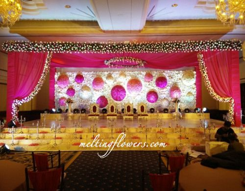 Leela Palace Wedding Stage Decoration Bangalore