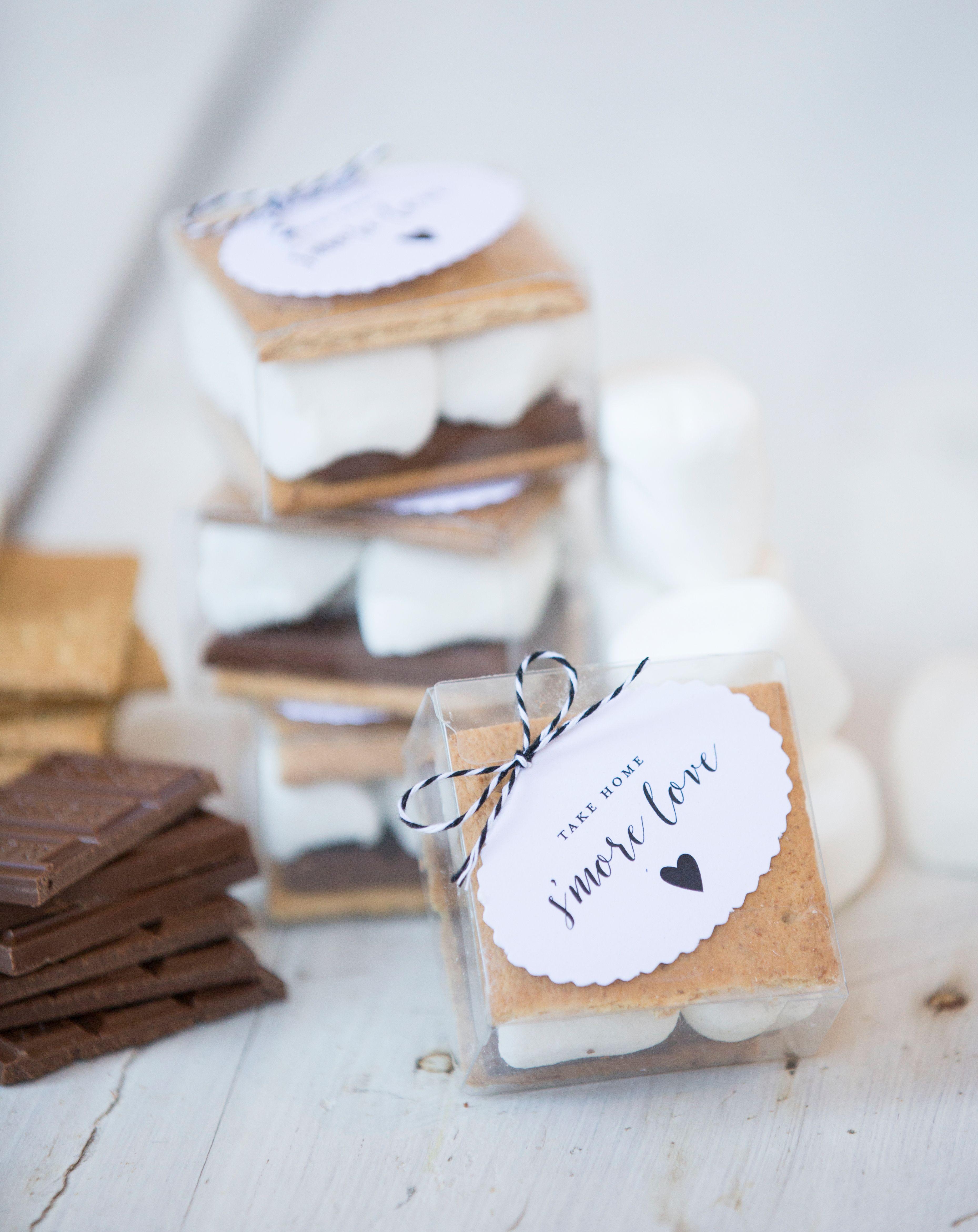 Wedding Favors S\'Mores DIY | Wedding Favors | Pinterest | Clear ...