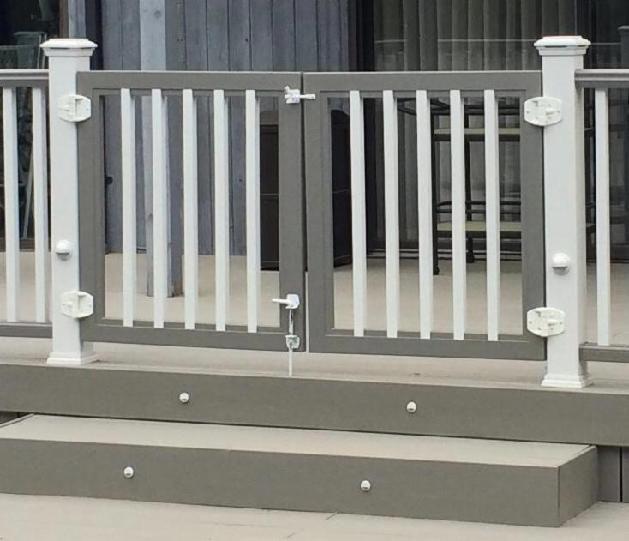 55 Front Verandah Ideas And Improvement Designs: Rockland Trex Deck Gates / TimberTech Deck Gates / Fiberon
