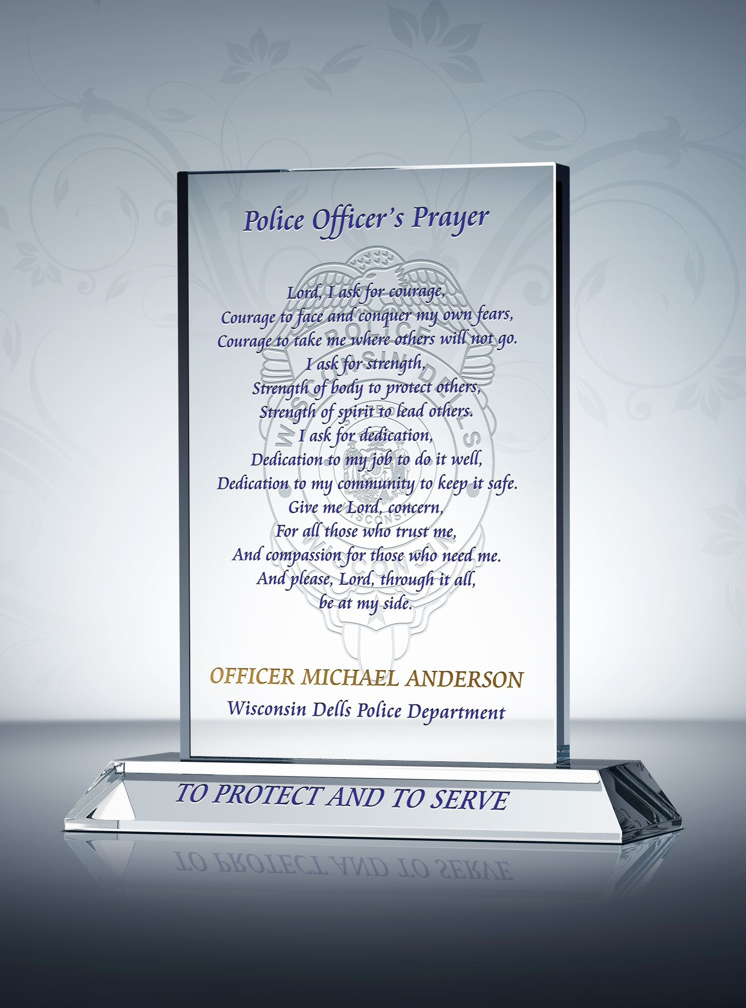 Police Officer Police Officer Police prayer