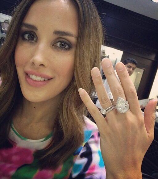 One Million Dollar Engagement Ring From Dubai Bec Judd Yes