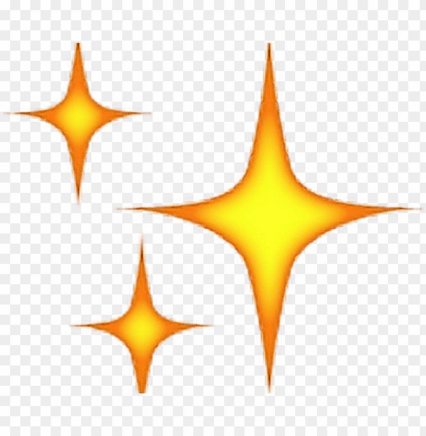 Anime Clipart Sparkle 3 Star Emoji Png Image With Transparent Background Png Free Png Images Sparkle Png Star Emoji Sparkle Emoji