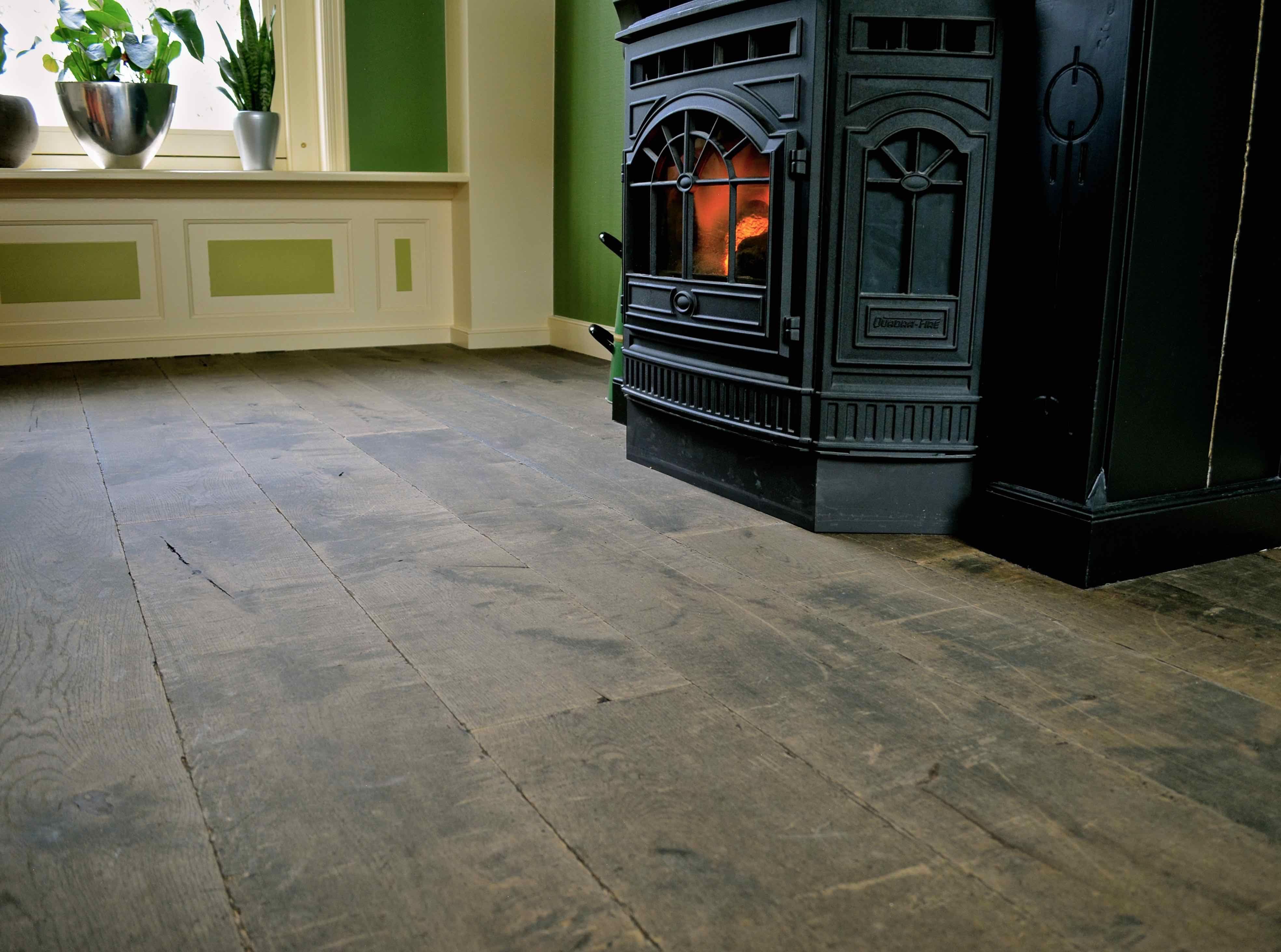 Verouderde eiken houten vloer inspiratie houten vloeren vloeren