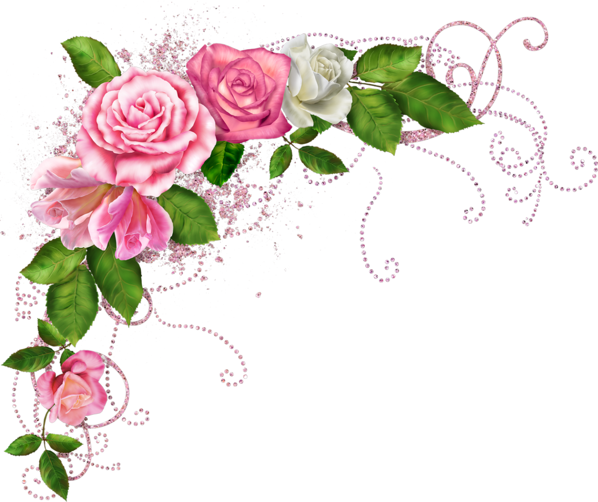 Www Playcast Ru Uploads 2014 08 01 9392656 Png Gifts For An Artist Floral Border Page Borders Design