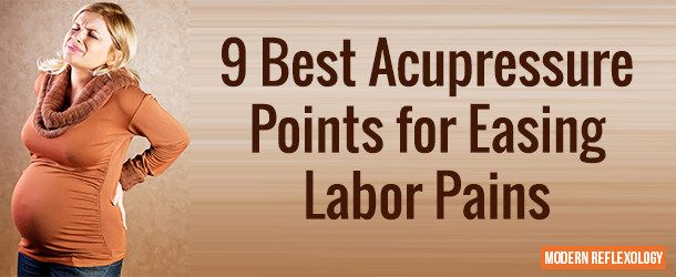 9 Effective Acupressure Points to Induce Labor and ...