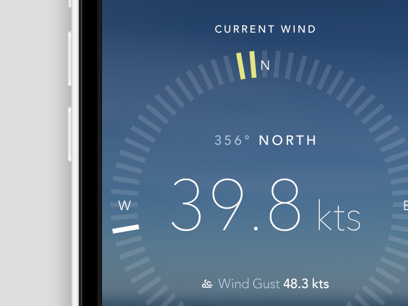 Anemometer screen from Kerem Suer