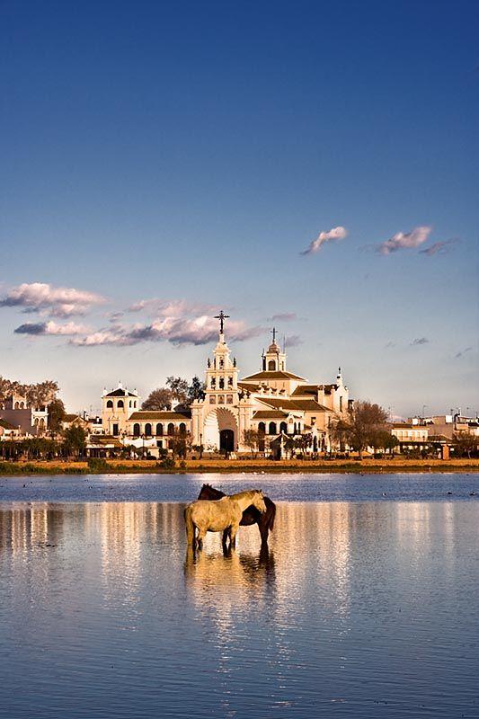 Huelva El Rocio Andalusia Andaluc A Huelva Pinterest Beautiful Pilgrimage And