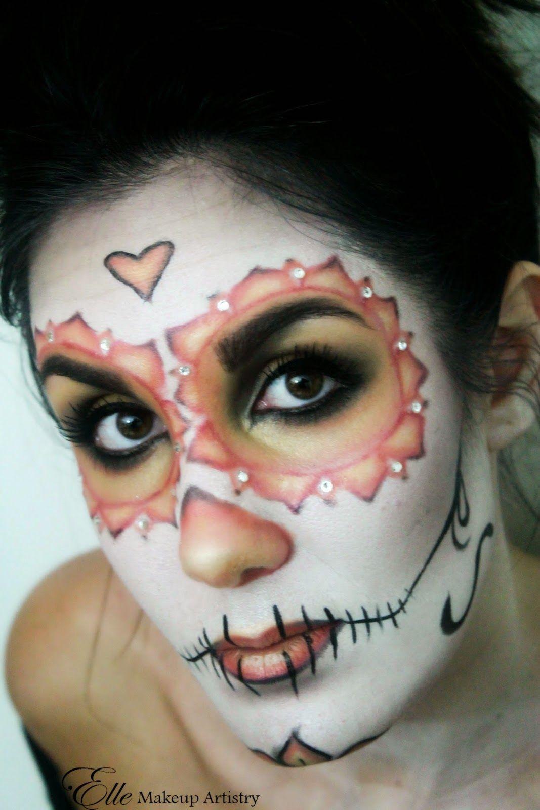 Halloween Makeup Dia de los Muertos Day of the Dead