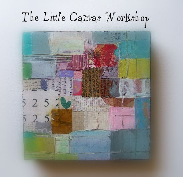 The Little Canvas workshop will begin September 2 , 2013 on Monday till Saturday  28, 2013. Class - $55. Instructor: Magaly Ohika