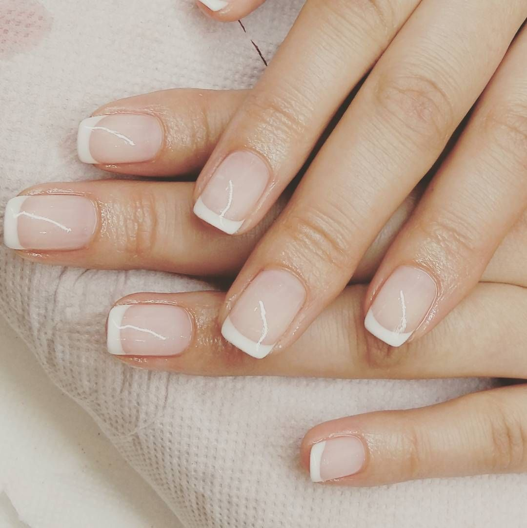 Just French Frenchmanicure French Manicure Hybrydanails