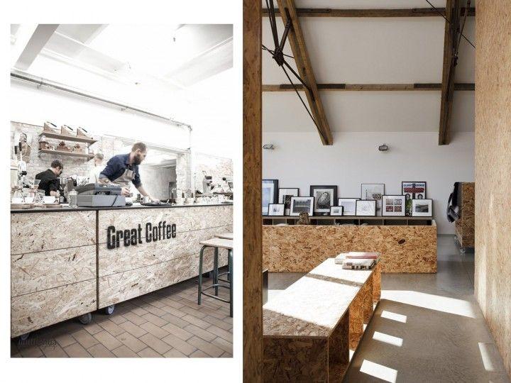Decoraci n con paneles de madera osb tendencia d co avec du bois pinterest - Decoracion con paneles ...