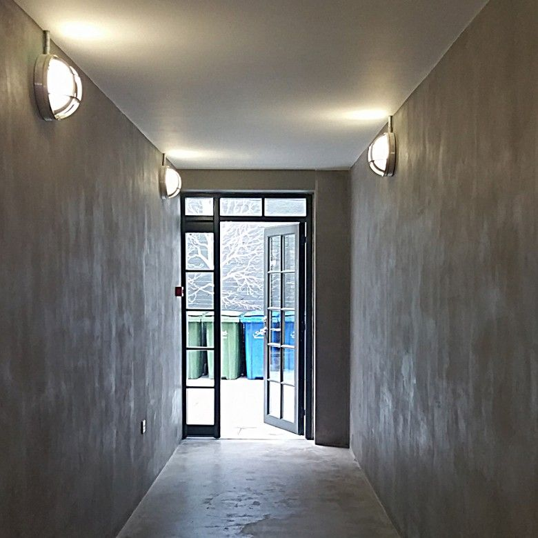 The More Beautiful More Sustainable Softer And Higher Performing Alternative To Concrete Clayworks Clay Plasters Wall Finishes Wall Systems Clay Wall