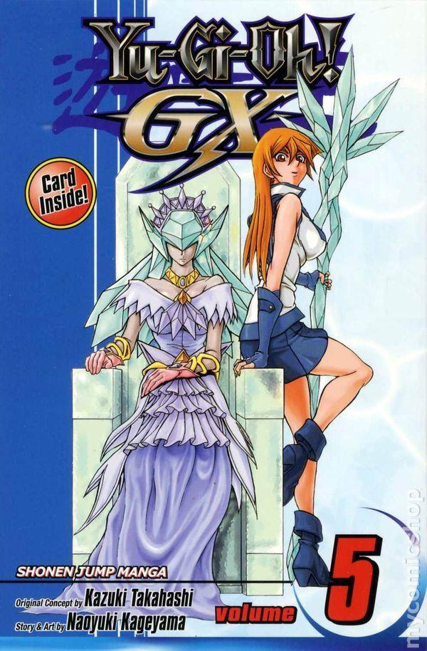 Yugioh Manga Covers Gx