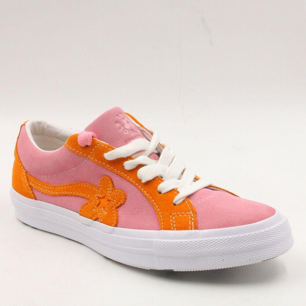 Ebay Sponsored Converse One Star Ox Tyler The Creator Golf Le Fleur Pink Orange Men 5 5 Wmn 7 5 Golf Fashion Converse One Star Chuck Taylor Shoes