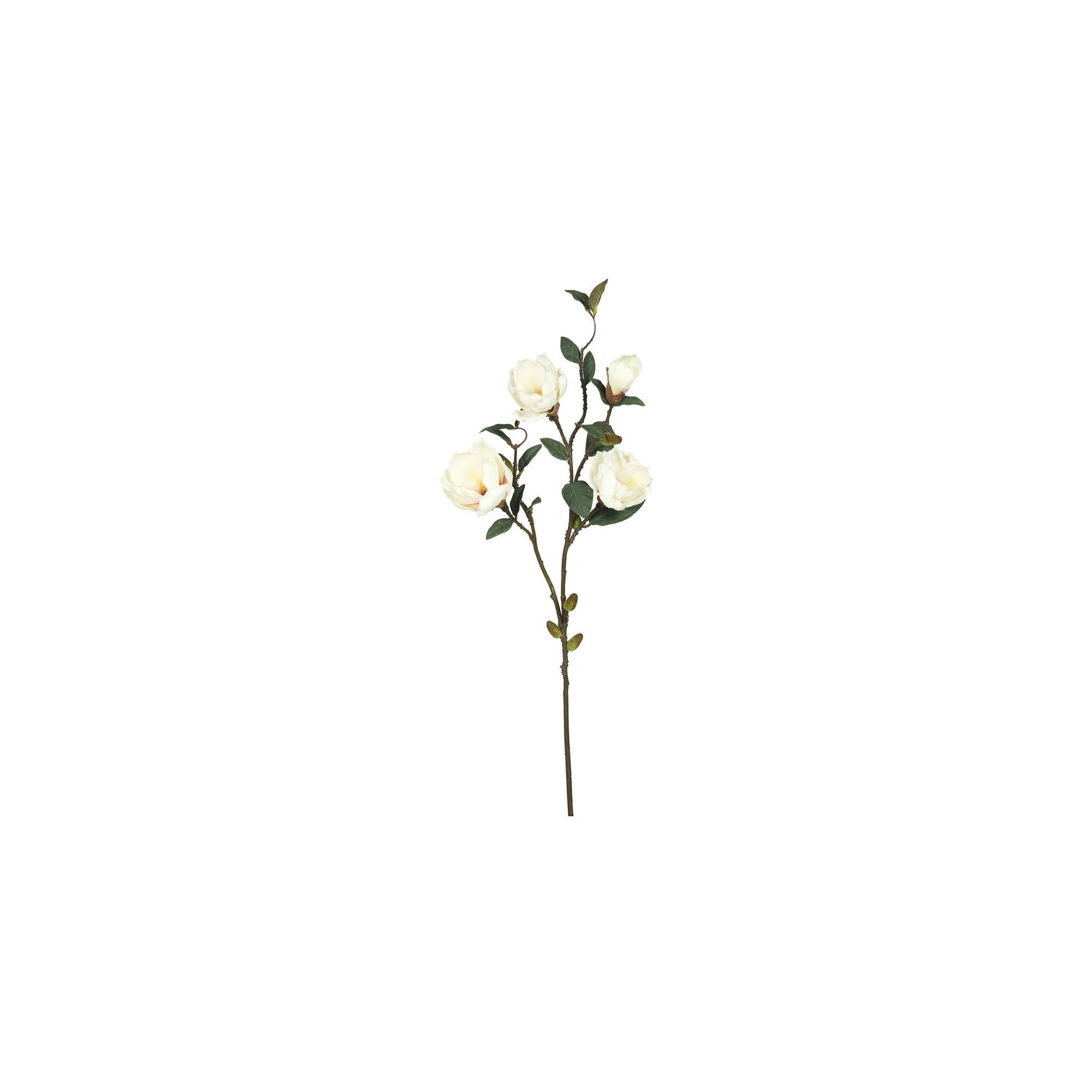 Artificial Magnolia x 4 (Pk/3) Cream - Vickerman