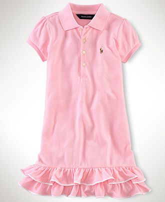31ef1c38 Ralph Lauren Kids Dress, Little Girls Polo Dress - Kids | Oh my ...
